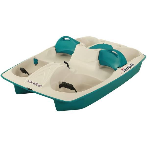 5 Person Sun Slider Pedal Boat  sc 1 st  Farm and Fleet & Sun Dolphin 5 Person Sun Slider Pedal Boat