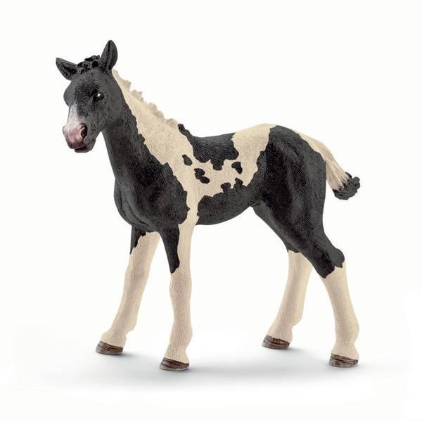 Pinto Foal Figurine