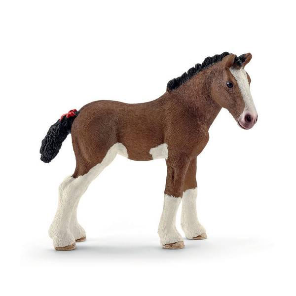 Clydesdale Foal Figurine