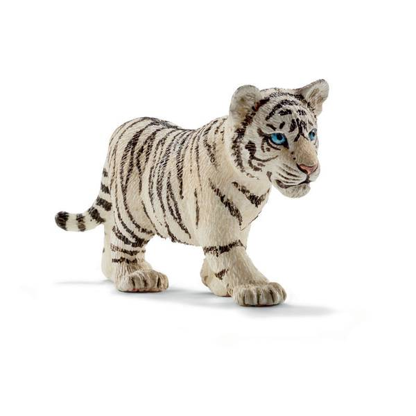 White Tiger Cub Figurine