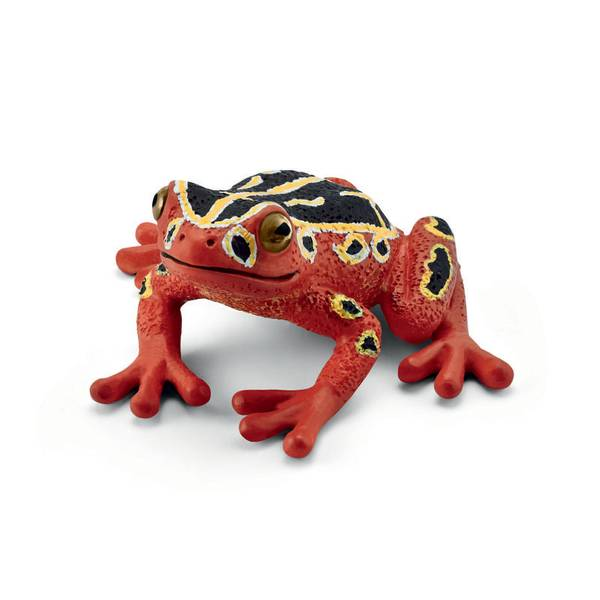 African Reed Frog Figurine