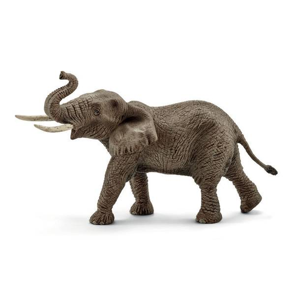 Male African Elephant Figurine