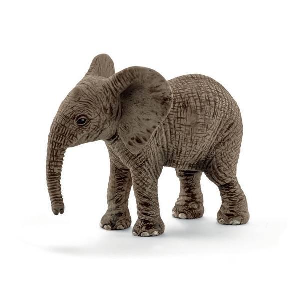 African Elephant Calf Figurine