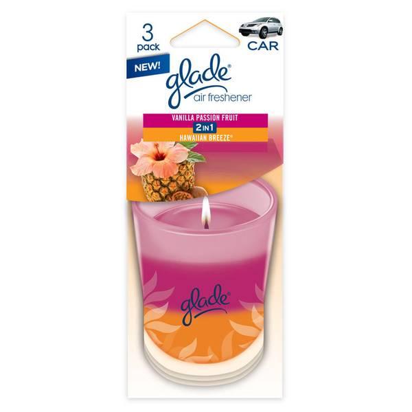 Auto Air Freshener - 3 Pack
