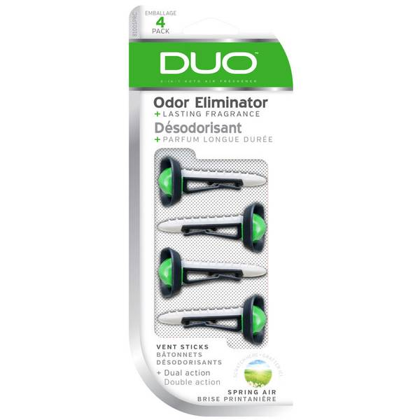 Duo Vent Stick Air Freshener-4 Pack