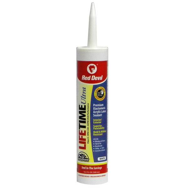 Lifetime Ultra White Caulk