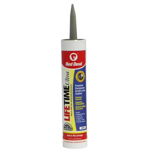 Gray Lifetime Ultra Premium Acrylic Sealant