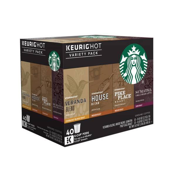 Starbucks Coffee Variety Pack K-Cup