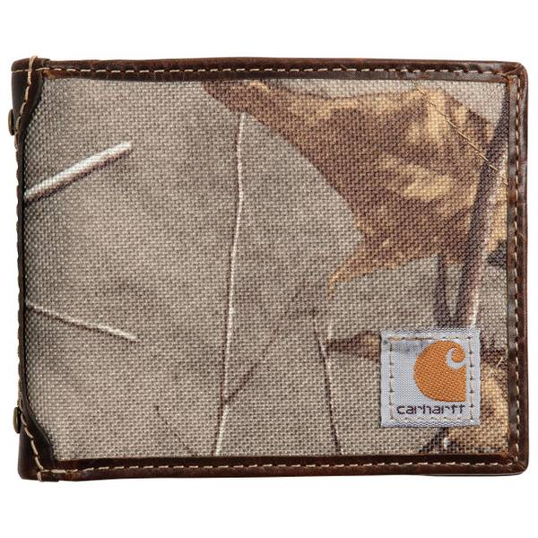 Men's  Canvas Passcase Wallet