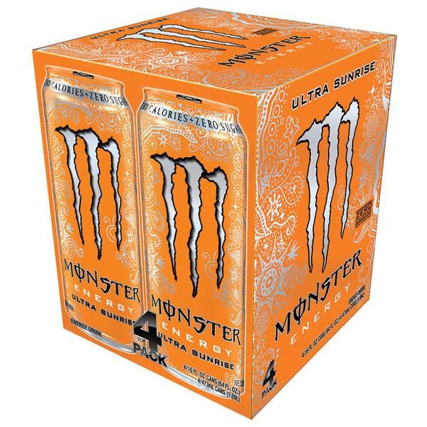 Ultra Sunrise Energy Drink-4 Pack