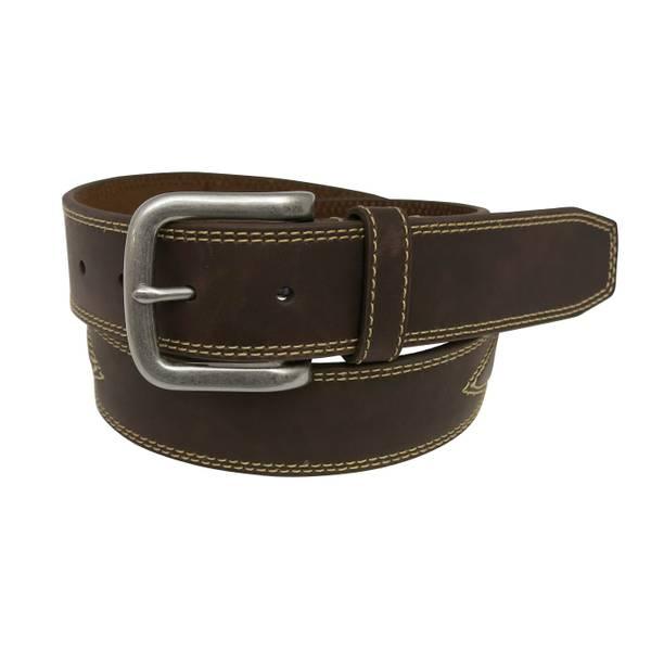 Men's 38mm Top Stitch Western Belt