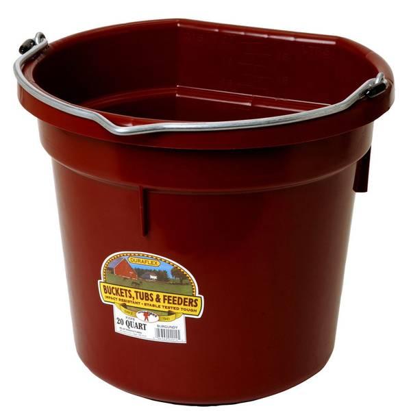 20 Qt. Duraflex Plastic Bucket