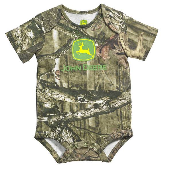 Baby Boy's Mossy Oak Short Sleeve Bodysuit