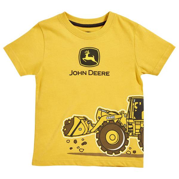 Infant Boy's Yellow Construction Co. Tee