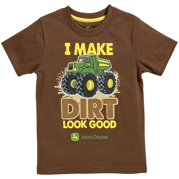 Infant Boy's Brown Dirt Look Good Tee
