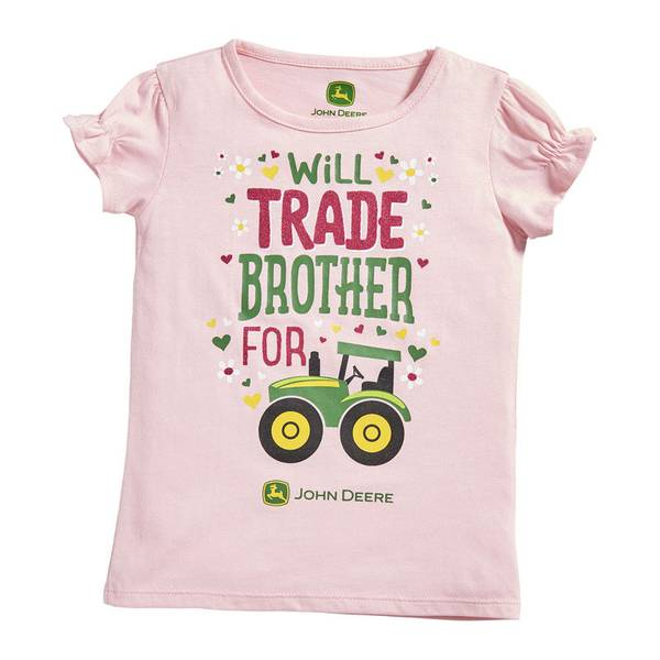 Infant Girl's Pink Trade Brother Tee Pink