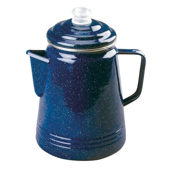 Enamelware 14-Cup Coffee Percolator