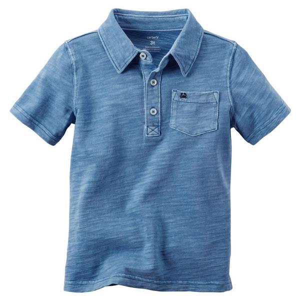 Boys'  Short Sleeve Jersey Polo Shirt