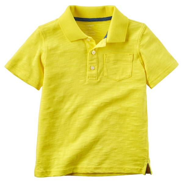 Toddler Boys'  Jersey Polo Tee