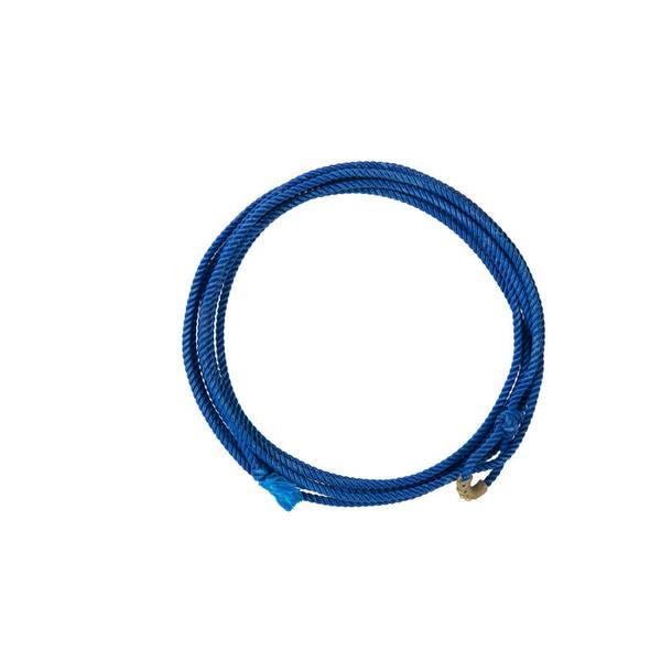 Blue Waxed Nylon Ranch Rope
