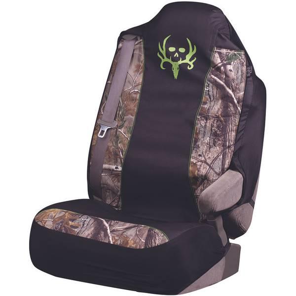 Green Logo Universal Seat Cover