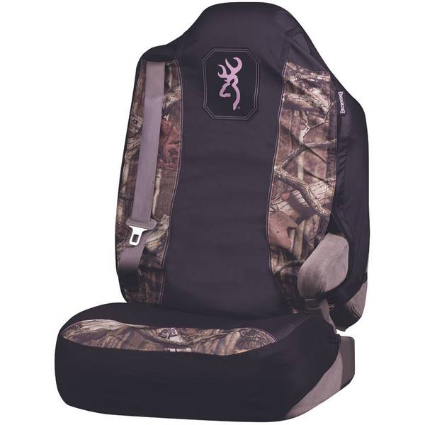 Mossy Oak & Pink Universal Seat Cover