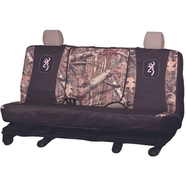 Mossy Oak Infinity Pink FS Bench Seat Cover