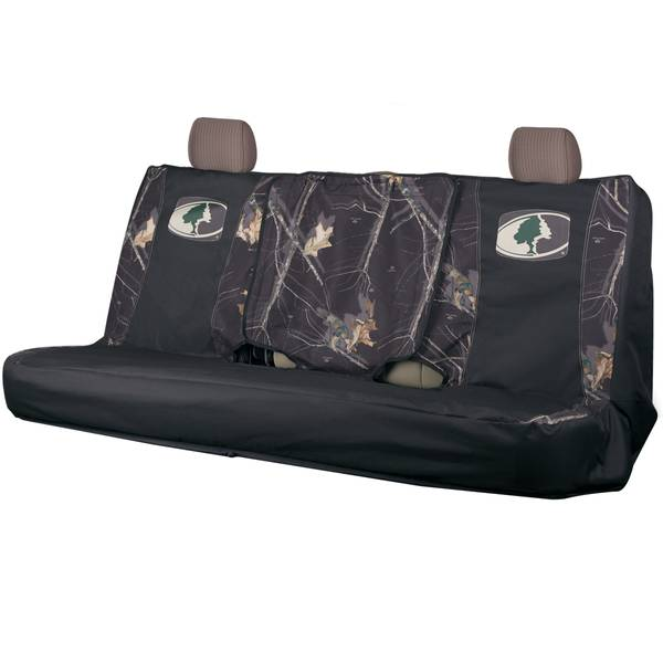 Black Full Bench Seat Cover