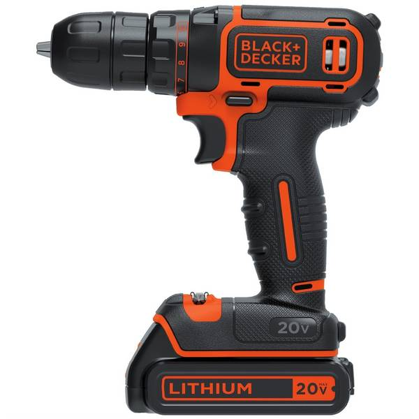 20V MAX Lithium Single Speed Drill Driver