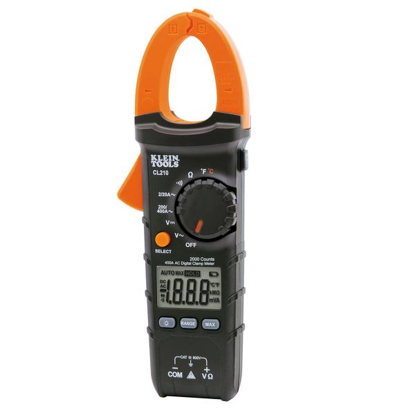 Auto-Ranging 400 Amp Digital Clamp Meter