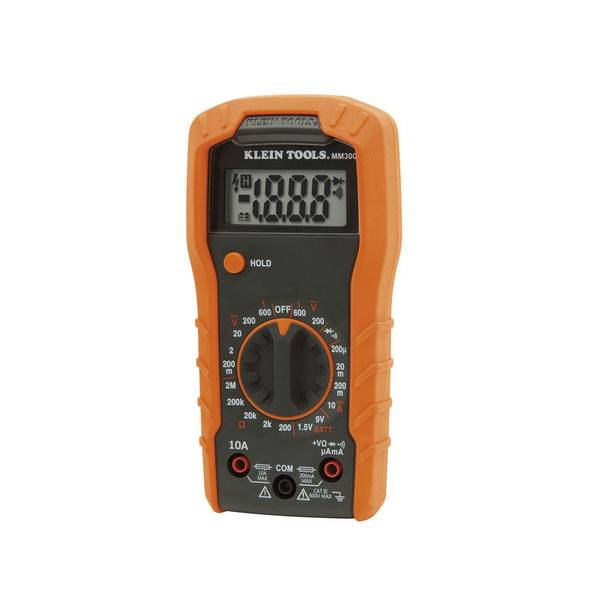 Manual-Ranging 600V Digital Multimeter