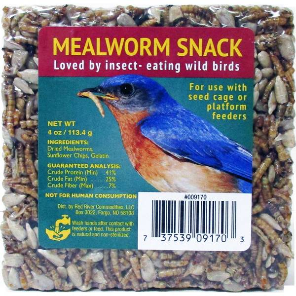 4 Oz. Mealworm Snack Mini Cake