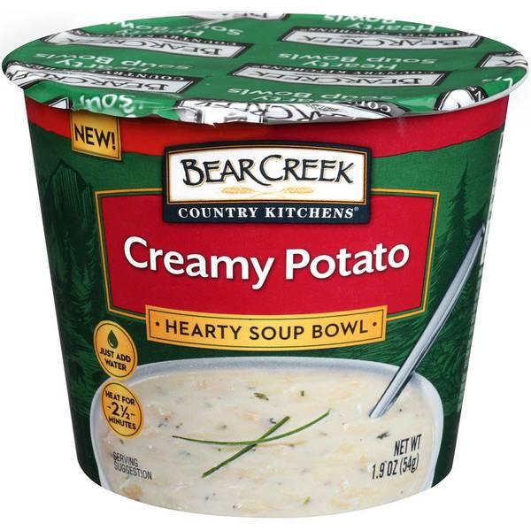 Creamy Potato Soup Bowl