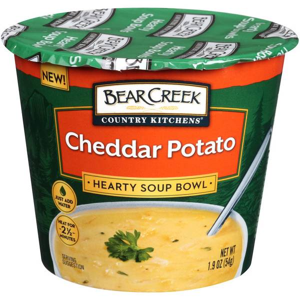 Cheddar Potato Soup Bowl