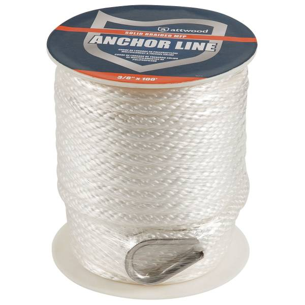 Solid Braid MFP Anchor Line with Thimble
