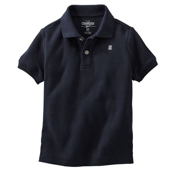 Toddler Boys'  Pique Polo