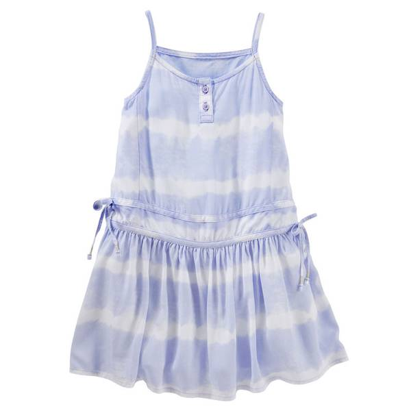 Toddler Girls'  Tie Dye Drop-Waist Dress