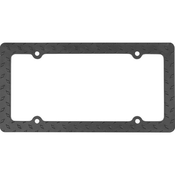 Metal Diamond License Plate Frame