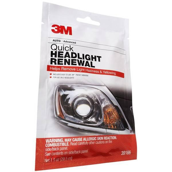Quick Headlight Renewal Kit