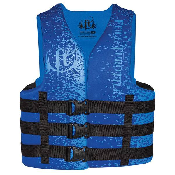 Men's Blue Dual Sized Rapid Dry Vest