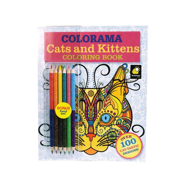 As Seen On TV Colorama Cats Amp Kittens Coloring Book