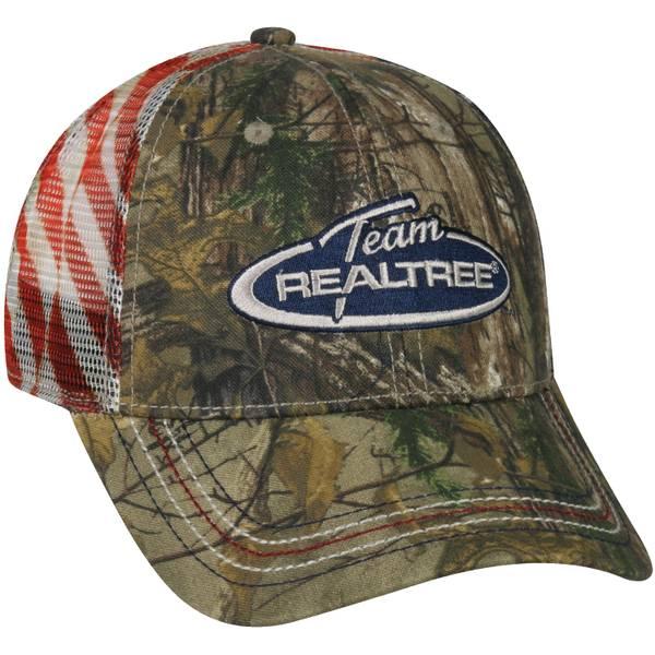 Men's Realtree Xtra Americana Meshback Cap