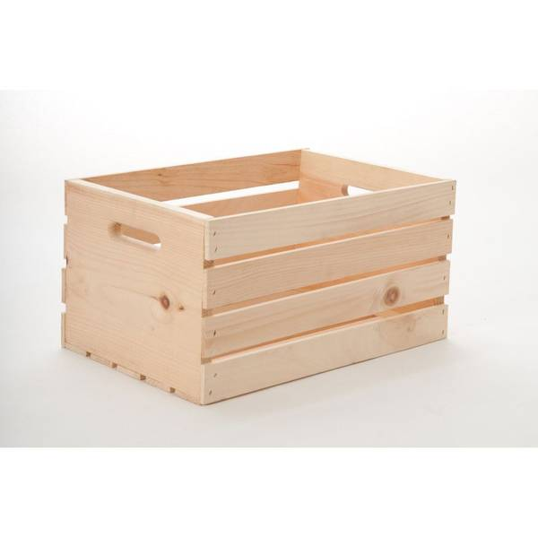 Adwood Manufacturing Ltd Pine Wood Crate