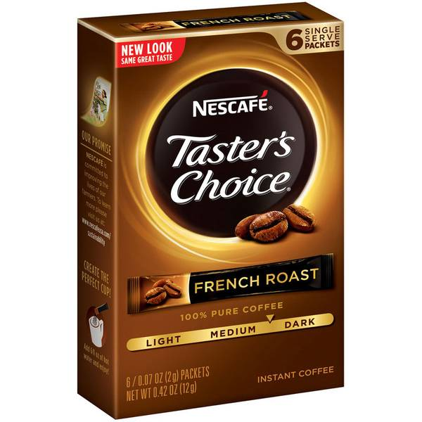 Taster's Choice French Roast Instant Coffee