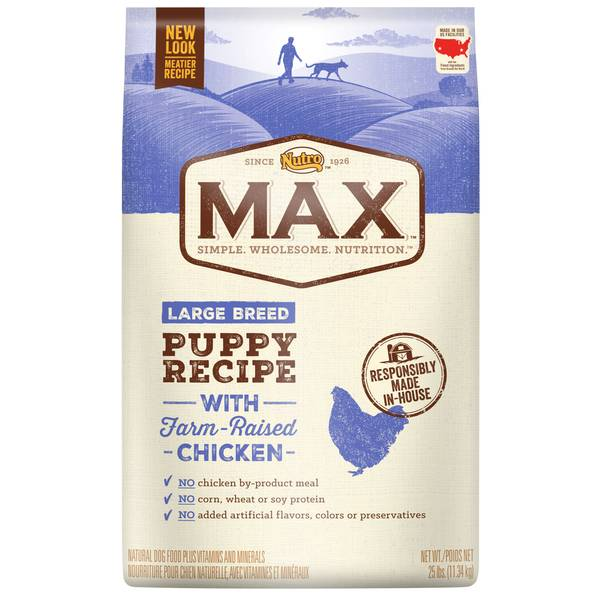 Max Large Breed Puppy Recipe Dry Dog Food