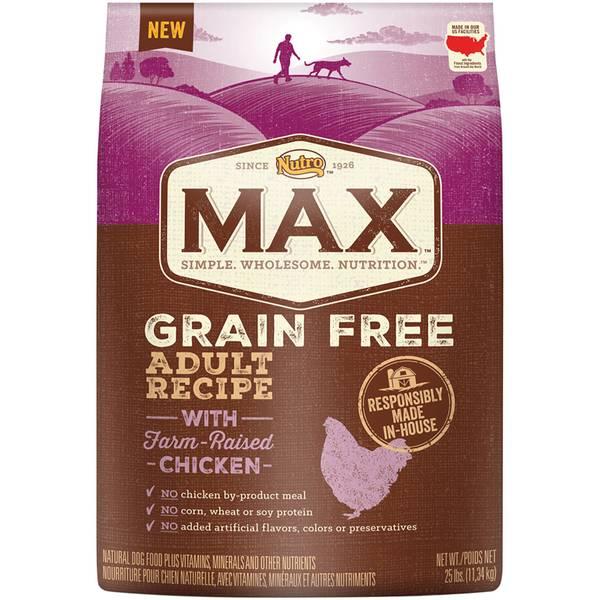 Grain Free Natural Dry Dog Food