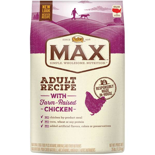 Max Chicken Natural Adult Dog Food