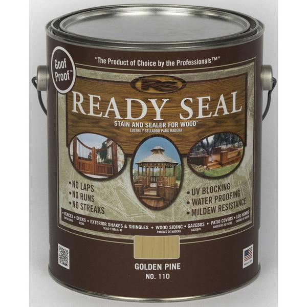 Exterior White Stain For Wood: Ready Seal Golden Pine Exterior Wood Stain And Sealer