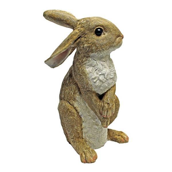 Hopper Bunny Standing Garden Statue