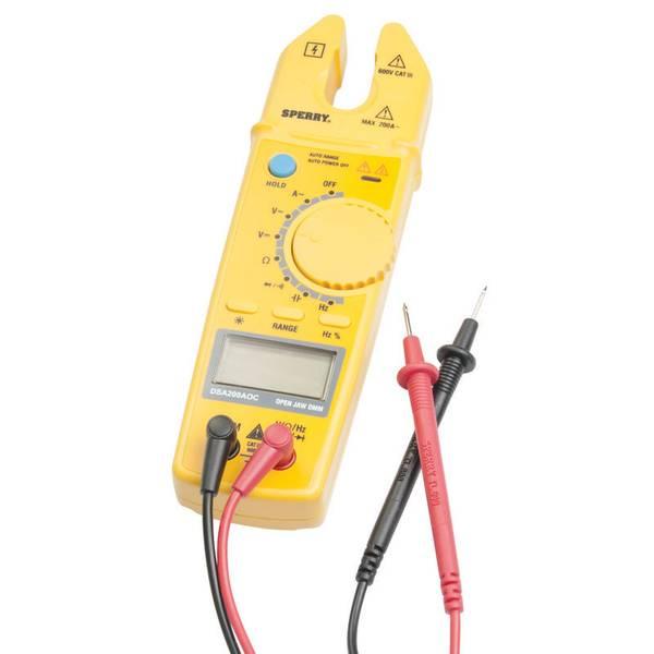 Sperry Digital Open Clamp Meter